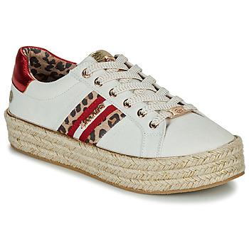 Schuhe Damen Sneaker Low Dockers by Gerli 46GV202-509 Weiss