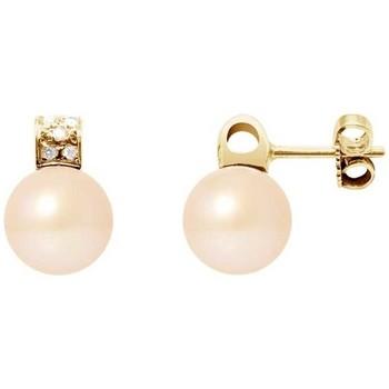 Uhren & Schmuck Damen Ohrringe Blue Pearls BPS K627 W Multicolor