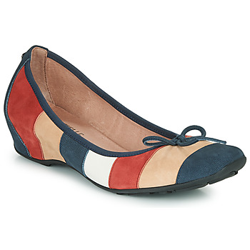 Schuhe Damen Ballerinas Mam'Zelle FLUTE Blau / Beige / Bordeaux