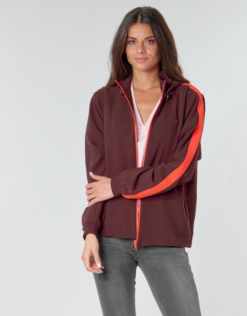 Kleidung Damen Sweatshirts Lacoste AMINA Bordeaux