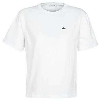 Kleidung Damen T-Shirts Lacoste BENOIT Weiss