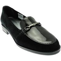 Schuhe Damen Slipper Calzaturificio Loren LOX5907ne nero