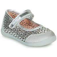 Schuhe Mädchen Ballerinas Pablosky  Silbern