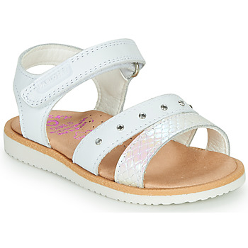 Schuhe Mädchen Sandalen / Sandaletten Pablosky  Weiss