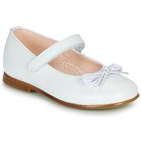 Schuhe Mädchen Ballerinas Pablosky  Weiss