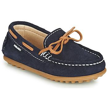Schuhe Jungen Slipper Pablosky  Marine / Camel