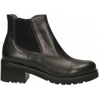 Schuhe Damen Low Boots Calpierre BUFALIS ROMM nero