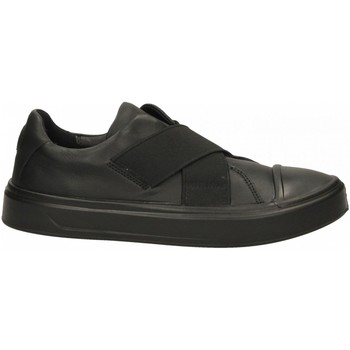 Schuhe Damen Slip on Ecco Flexure T-Cap W Black Cirrus black-nero