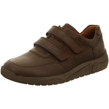 Schuhe Herren Sneaker Low Waldläufer Slipper Hanson braun
