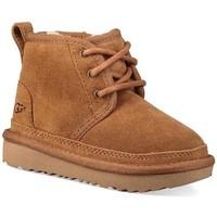 Schuhe Jungen Schneestiefel Ugg Australia Kids K NEUMEL II beige
