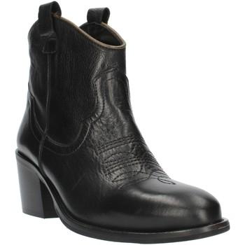Schuhe Damen Low Boots Exton MZ40 schwarz