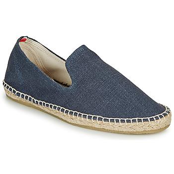 Schuhe Herren Leinen-Pantoletten mit gefloch 1789 Cala SLIPON COTON Marine