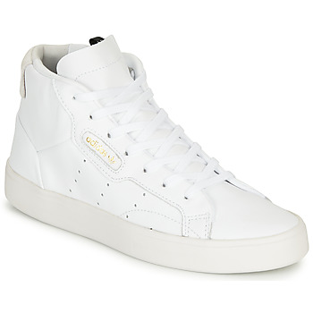 Schuhe Damen Sneaker Low adidas Originals adidas SLEEK MID W Weiss