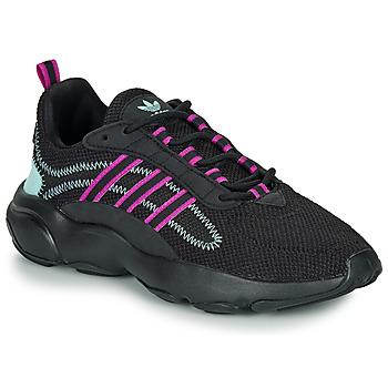 Schuhe Damen Sneaker Low adidas Originals HAIWEE W Schwarz / Violett