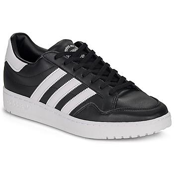 Schuhe Sneaker Low adidas Originals MODERN 80 EUR COURT Schwarz / Weiss