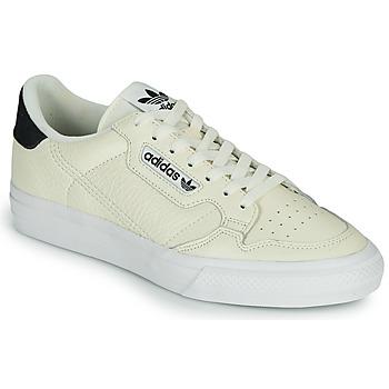 Schuhe Sneaker Low adidas Originals CONTINENTAL VULC Beige
