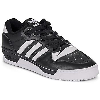Schuhe Herren Sneaker Low adidas Originals RIVALRY LOW Schwarz / Weiss
