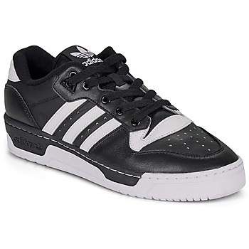 Schuhe Sneaker Low adidas Originals RIVALRY LOW Schwarz / Weiss