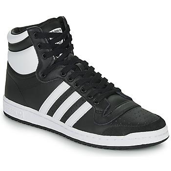 Schuhe Sneaker High adidas Originals TOP TEN HI Schwarz
