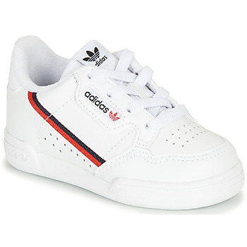 Schuhe Kinder Sneaker Low adidas Originals CONTINENTAL 80 I Weiss