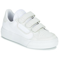 Schuhe Kinder Sneaker Low adidas Originals CONTINENTAL VULC CF C Weiss / Beige