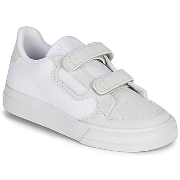 Schuhe Kinder Sneaker Low adidas Originals CONTINENTAL VULC CF I Weiss