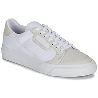 Schuhe Kinder Sneaker Low adidas Originals CONTINENTAL VULC J Weiss / Beige