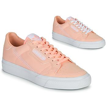 Schuhe Mädchen Sneaker Low adidas Originals CONTINENTAL VULC J Rose