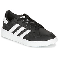 Schuhe Kinder Sneaker Low adidas Originals Novice C Schwarz / Weiss