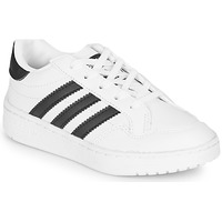 Schuhe Kinder Sneaker Low adidas Originals Novice C Weiss / Schwarz