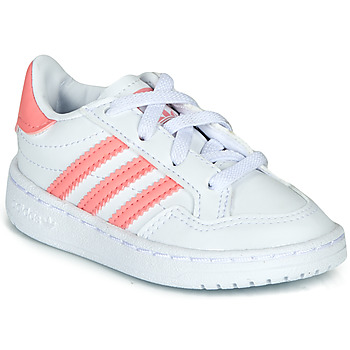 Schuhe Mädchen Sneaker Low adidas Originals NOVICE EL I Weiss / Rose