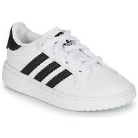 Schuhe Kinder Sneaker Low adidas Originals NOVICE EL I Weiss / Schwarz