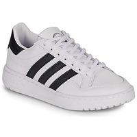 Schuhe Kinder Sneaker Low adidas Originals Novice J Weiss / Schwarz