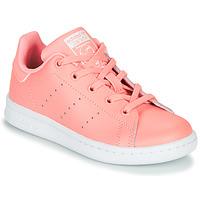 Schuhe Mädchen Sneaker Low adidas Originals STAN SMITH C Rose