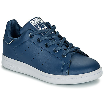 Schuhe Jungen Sneaker Low adidas Originals STAN SMITH C Blau