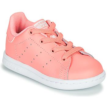 Schuhe Mädchen Sneaker Low adidas Originals STAN SMITH EL I Rose