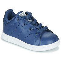 Schuhe Jungen Sneaker Low adidas Originals STAN SMITH EL I Marine