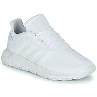 Schuhe Jungen Sneaker Low adidas Originals SWIFT RUN C Weiss
