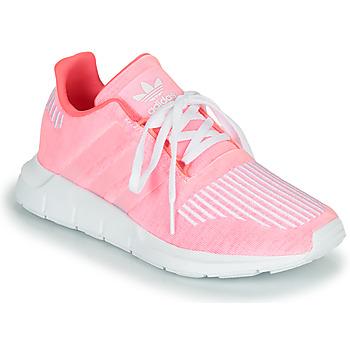 Schuhe Mädchen Sneaker Low adidas Originals SWIFT RUN J Rose