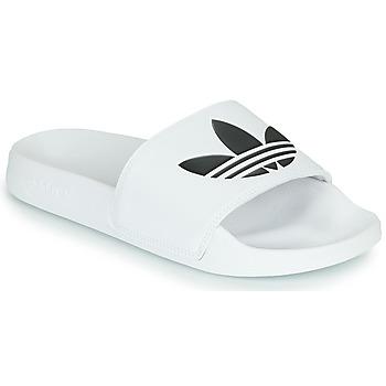 Schuhe Pantoletten adidas Originals ADILETTE LITE Weiss