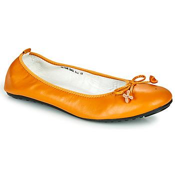 Schuhe Damen Ballerinas Mac Douglas ELIANE Ocker