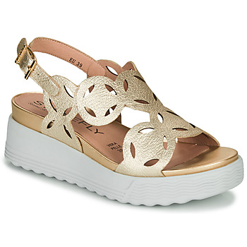 Schuhe Damen Sandalen / Sandaletten Stonefly PARKY 9 Gold