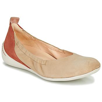 Schuhe Damen Ballerinas Think CUGAL Beige / Rot