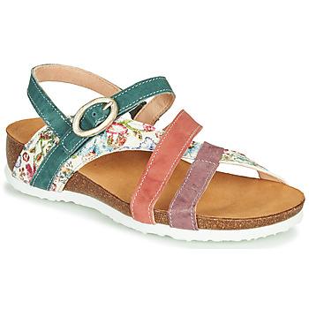 Schuhe Damen Sandalen / Sandaletten Think JULIA Rot / Grün / Weiss