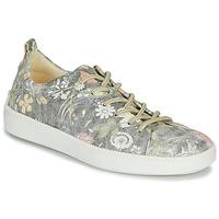 Schuhe Damen Sneaker Low Think TURNA Grau
