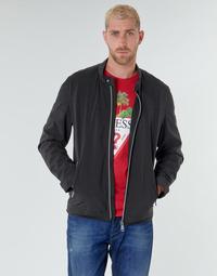 Kleidung Herren Jacken Guess CUMMUTER JACKET Schwarz