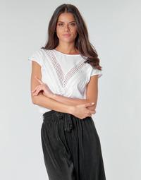 Kleidung Damen Tops / Blusen Guess SS MALIKA TOP Weiss