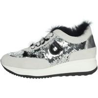 Schuhe Damen Sneaker Low Agile By Ruco Line 1304 Silber