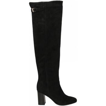 Schuhe Damen Klassische Stiefel Carmens Padova GLENDA CUISSARD Crosta 18I nero
