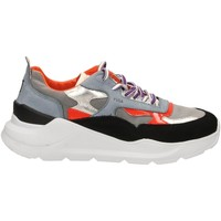 Schuhe Damen Sneaker Low Date FUGA MEGATRON black